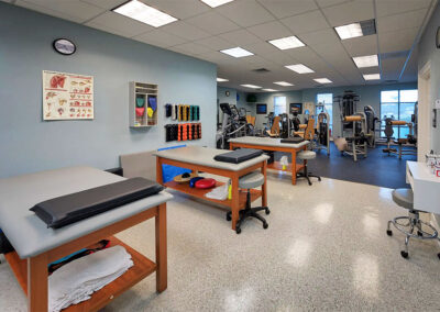 DeRosa Physical Therapy Room